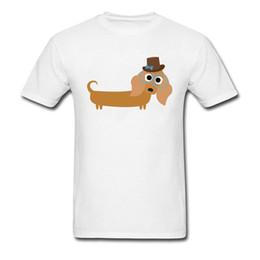 marcas t shirt francês Desconto Bonito Dachshund Francês Cão de Estimação Camiseta Para O Presente Do Estudante Camisetas Personalizadas de Alta Qualidade Gola Redonda Marca Casual Steetwear Menino