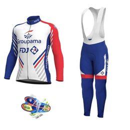 2019 camisetas de fdj 2019 FDJ Pro Team Ropa de ciclismo / Ropa de ciclismo de carretera Ropa de carrera Secado rápido Conjunto de ciclismo de hombre Ropa Ciclismo Maillot rebajas camisetas de fdj