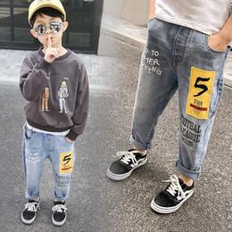 Kinder Hosen Jungen Stretch Joker Jeans 2019 Frühling Baby Kinder Bleistift Leggings Herbst Denim Kleidung Für 4 bis 14 Jahre Männliches Kind