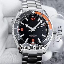 Осевой корпус онлайн-Best Edition Planet Ocean Co-Axial 600M 215.30.44.21.01.002 Стальной корпус Черный циферблат Cal.8900 Автоматические мужские часы ETF Часы из нержавеющей стали