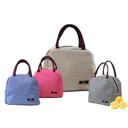 Bolsos de mano online-Multifuncional bolsa de almuerzo aislada caja de almacenamiento de alta calidad bolso impermeable grueso material de gran capacidad 5 colores.