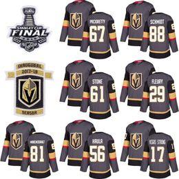 camisa de futebol feminino Desconto 2.019 cavaleiros Vegas Ouro Jersey 61 Mark Stone 67 Max Pacioretty 29 Marc-Andre Fleury 56Erik Haula Hockey Homens Mulheres Juventude Stanley Cup Fina