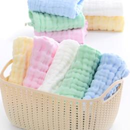 Handtücher online-Baby Musselin Waschlappen und Handtücher, natürliche Bio-Baumwolle Baby wischt Handtuch Musselin Waschlappen für empfindliche Haut C5388