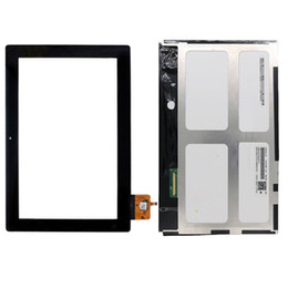 dh inch tablet Rabatt Für Lenovo IdeaTab S6000 S6000-H Schwarz Touchscreen Digitizer Sensor Glas + LCD-Bildschirm Panel Monitor