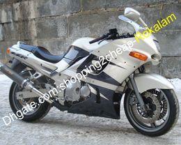 Carenados de ninja 93 online-Moto Carenado para Kawasaki Shell Ninja ZZR400 1993-2003 ZZR 400 ZZR400 93-03 Kit carrocería de la motocicleta (moldeo por inyección)