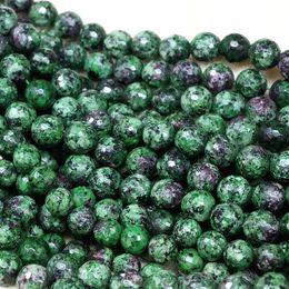"Natural 3 Rangées à facettes 5x8mm BLEU SAPHIR pierres précieuses Perles Collier 17-19/"" AAA"