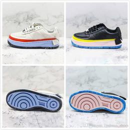 Tablero de ganchos online-Nuevo diseño Drop Hook Irregular 1s Wmns 1 JESTER XX Violet Mist Low zapatos de skateboard Mujeres Designer Skate Board Shoe Zapatillas de deporte al aire libre
