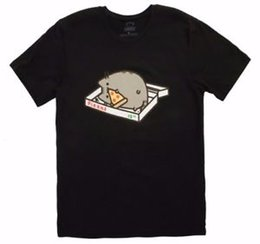 d475aad5 cat pizza shirt NZ - Unisex The Cat PIZZA BOX Unisex EATING PIZZA T-Shirt