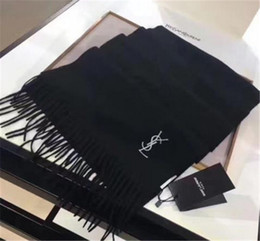 2019 lo scialle di lana di modo di spessore YS Scialle in cashmere con sciarpa invernale di lusso con doppio scialle in lana scamosciata con doppio scialle in jacquard double face