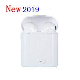 Canada Nouveau i7S TWS sans fil Bluetooth écouteurs sans fil Casques i7 Casques air pods écouteurs avec boîte de charge Mic cadeau pour Android ios pk i9s Offre