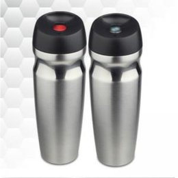 natal inflável por atacado Desconto 350 ml de Aço Inoxidável Copos Garrafa Térmica Garrafa de Vácuo Garrafa de Água Garrafas De Água de Aço Inoxidável Drinkware Thermo copo Canecas de Café WWA114