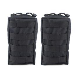 2 UNIDS Tactical Molle Pouches EDC Utility Pouch Gadget Bolsa de Engranaje Militar Chaleco Paquete de la Cintura Resistente al agua Bolsa Compacta # 250875 desde fabricantes