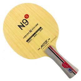 Tênis de mesa original on-line-Yinhe Original Via Láctea Galaxy N9s tênis de mesa pingpong lâmina Longa Shakehand FL