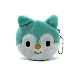 Hot in vendita kawaii del fumetto panda / scoiattolo bambini peluche borsa della moneta borsa con cerniera cambia portafoglio raccoglitore della ragazza dei capretti delle donne per il regalo cheap kawaii plush wallet da portafoglio peluche kawaii fornitori