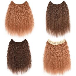 trame de cheveux bohème Promotion Femme Sara cheveux brésiliens bouclés 100% vrais cheveux, armure naturelle, extensions de cheveux bouclés afro Kinky, postiche noire, 36 cm