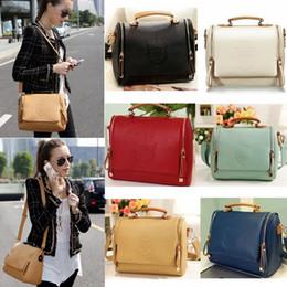 Einfache taschentaschen online-6 arten frau handtaschen taschen klappe geldbörsen damen handtaschen totes mit schulter reiner reißverschluss schließung
