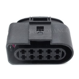 1J0 973 735 Headlight Wiring Plug Pigtail 06-10 VW Passat B6 Halogen Head Lamp