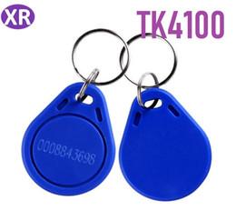 500pcs 125khz EM4100 porte-clés moins cher Tk4100 RFID carte d'identité de proximité étiquettes jeton clé bleue Keyfobs ? partir de fabricateur