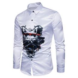 2019 esmoquin para hombre xxl Camisa clásica para los hombres Slim Fit Estilo Casual Male diseñador para hombre de manga larga de los hombres de esmoquin camisas XXL esmoquin para hombre xxl baratos