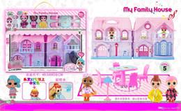 2020 nouveaux jouets de poupée 2018 nouveau style à la main Doll Villas, Light Music Castles, costumes de poupée, meubles, Arroseurs Doll, jouets pour les cheveux couleur variable nouveaux jouets de poupée pas cher