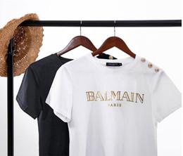 Longues chemises en coton d'été en Ligne-T-shirt à manches courtes T-shirt en coton à manches courtes T-shirts femme décontracté pour femme