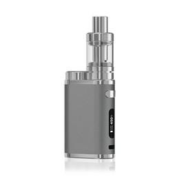 caja de mod rig Rebajas Kit de cigarrillo electrónico Pico 75W Starter Kit 18650 TC Mod Melo III 3 Mini tanque atomizador Control de flujo de aire invisible Vape Box Mod Kit
