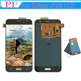 Argentina Para Samsung Galaxy J120 J12020 J120 J120H J120H Pantalla LCD Pantalla táctil de asamblea digitalizador para Samsung J120 pantalla LCD Suministro