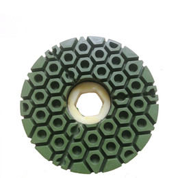 stein schnecke Rabatt 10 STÜCKE Snail Lock Anfasenscheibe Harz Anfasen Schleifscheibe Buff Diamond Edge-Rad für Steinkantenschleifen Profilieren und Polieren