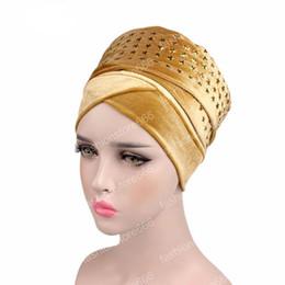 2019 star hijab Mais recente Moda de luxo STAR diamante Extra Longo Turbante De Veludo Cabeça Wraps Cabeça Hijab Cachecol bandanas para as mulheres star hijab barato