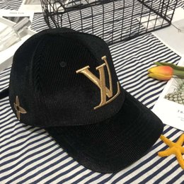 chapéus de luxo Desconto Designer Hats Caps boné de beisebol de luxo para Marca tampão das mulheres dos homens ajustáveis Chapéus marca Altamente qualidade 4 cores opcionais