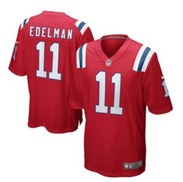 6968edfae1be8 Julian Edelman Tom Brady jersey Vapor Untouchable Patriots Nueva Inglaterra  Rob Gronkowski camisetas personalizadas de fútbol americano barato venta ...