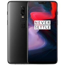 2019 android nfc celulares Original Oneplus 6 6GB RAM 64GB ROM 4G LTE Teléfono móvil Snapdragon 845 Octa Core Android 6.2