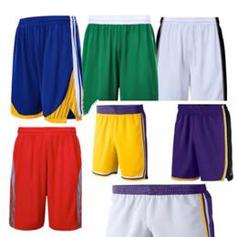 Sudores de baloncesto online-Los hombres de la nueva temporada Pantalones cortos de baloncesto Use Ligero transpirable Deportes pantalones sueltos ocasionales de pelota Lo mejor de la calidad todos los pantalones de sudor cosido S-XXL