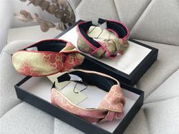 komplettbox zubehör Rabatt Designer Frauen Haarband Voll Logo Gedruckt Bogen Knoten Stirnbänder mit Original Box D Gedruckt Haarband Mode Trendy Frauen Haarschmuck
