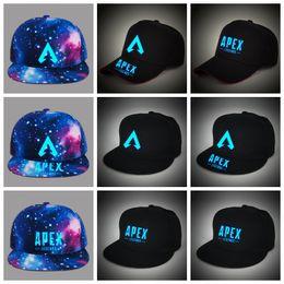 300cc6bb72011 Juego Apex legends Luminous Caps cielo estrellado gorra de béisbol sombrero  para el sol hip hop sombrero impreso sombreros del partido 9styles GGA1709  ...