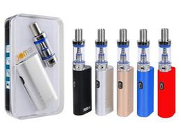 caixa de bateria mod mini Desconto JomoTech Lite 40 Kit kits de Starter Jomo 40 w caixa mod mini bulit em 2200 mAh bateria vaporizador kits 3 ml Lite tanque e cigs cigarros