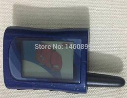 2019 llave de arranque del coche LCD MA remota cadena de arranque Key Fob llavero para la versión rusa Scher-Khan magicar Un sistema de alarma de coche de 2 vías Scher Khan MA rebajas llave de arranque del coche