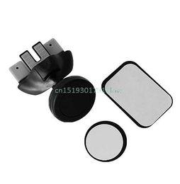 soporte de tableta de tarjeta de plástico Rebajas Cuna magnética del soporte del soporte de la ranura de la rociada del CD del coche para el teléfono celular GPS nuevo 360 grados