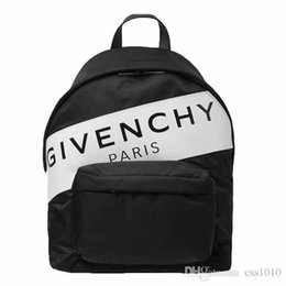 street backpack Promo Codes - 19ss Luxurious Paris Brand Backpack School bag Fashion Street Duffle bags men women waterproof sport backpacks travel outdoor bags