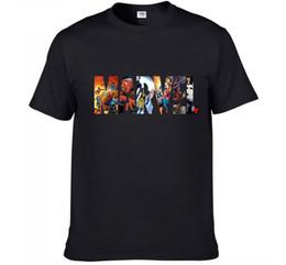 2019 camiseta de la calle desgaste Marvel Camisetas Summer Street Wear Moda Hombre Algodón de alta calidad camiseta de impresión Casual Mujer Tee camiseta rebajas camiseta de la calle desgaste