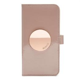 Étui iphone flip pour carte de crédit en Ligne-BALSA COLOR MIMCO FLIP CASE POUR IPHONE ET SAMSUNG Etui en cuir à fermeture magnétique avec fentes pour cartes