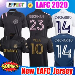 Atlanta on-line-2019 2020 LAFC Carlos Vela de Futebol 2021 Los Angeles FC Inter Miami Beckham Preto LA Galaxy Chicharito Atlanta United camisas de futebol