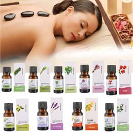 huiles essentielles naturelles pour la peau Promotion Huiles essentielles de parfum de 10ml pour des diffuseurs d'Aromatherapy huile essentielle normale de soin de peau d'ascenseur de peau usine d'huile de parfum