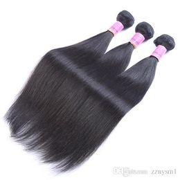 Cheveux vierges brésiliens en gros de tissage de cheveux péruviens tressés Bundle Body Straight 3 Bundle India Weave étendu ? partir de fabricateur