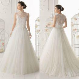 vestidos de noche de marfil baratos Rebajas Barato Marfil blanco nupcial Wraps encaje sin mangas de la boda chales Bolero chaquetas cortas para vestidos de boda fiesta de noche