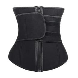Pastas de barriga on-line-Cintura Trainer Corpo Shaper Espartilho Mulheres Binder Tummy Shaper Modelagem Cinta Emagrecimento Cueca Cinturão Shapewear Cinto Abdominal T190627