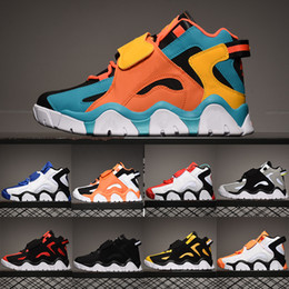 scarpe da basket iper Sconti 2020 Scarpe Barrage media QS Mens Bambini di pallacanestro per l'uomo Pippen Sneakers Raptors Hyper classico dell'uva Rams Cabana uptempo formatori 36-45
