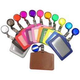 ID Nom Carte Badge Bobine Titulaire Fournitures Scolaires Bureau Classeurs Retractables De Visite Organisateur Colore FFA1619 Depot Sur La
