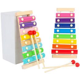 Montessori Oyuncak Çocuk Erken Eğitim Öğrenme Puzzle Ahşap Oyuncak Ksilofonlar Müzikal oyuncaklar Bilgelik Müzik Enstrüman 8 Ton nereden