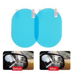 adesivo logo toyota Sconti 2 pezzi dello specchio di Rearview della pellicola protettiva anti nebbia finestra trasparente antipioggia Specchietto retrovisore molle protettivo Film Accessori per automobili